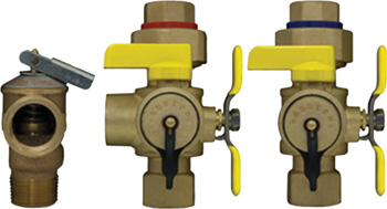 Isolation valve kit