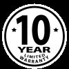 10-Year Limited Warranty