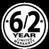 6/2-Year Limited Warranty
