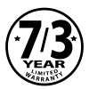 7/3-Year Limited Warranty