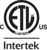 ETL Intertek Listed C US