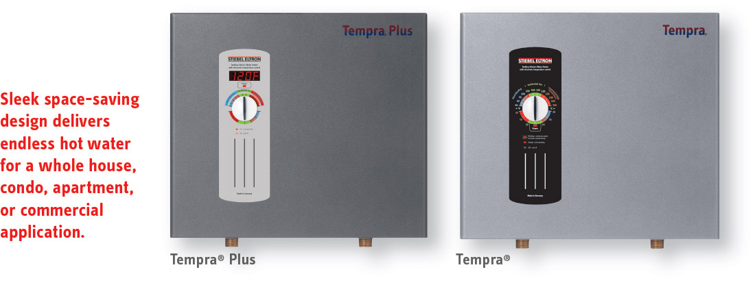 tempra plus sleek design claim tempra� whole house tankless electric water heaters stiebel hot water heater fuse box at readyjetset.co